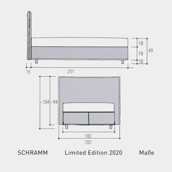 schramm-limited-edition-bett-2020-masse